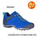 メレル M033669 カメレオン 8 ストーム ゴアテックス Merrell CHAMELEON 8 STORM GORE-TEX COBALT メンズ アウトドア …