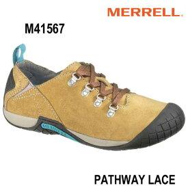 メレル M41567 メンズ パスウェイレース アンテローペ Merrell PATHWAY LACE Men's ANTELOPE メンズシューズ 幅2E相当