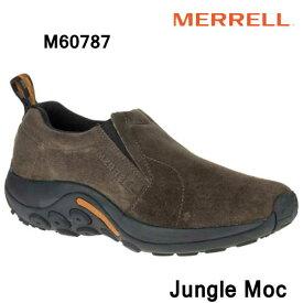 メレル M60787 ジャングルモック Merrell Jungle Moc Mens Gunsmoke メンズ アウトドア スニーカー 幅2E相当