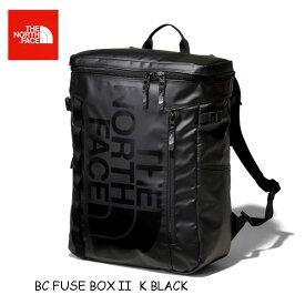 ザ ノースフェイス NM81968 (K) キャッシュレス5%還元対象 BCヒューズボックス ツー ブラック GOLDWIN日本正規品 The North Face BC Fuse Box II 30L 大学生 パソコン収納 fuse box 2
