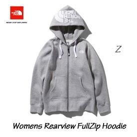 ザ ノースフェイス リアビューフルジップフーディ(レディース) The North Face WOMENS Rearview FullZip Hoodie NTW61955 (Z)ミックスグレー