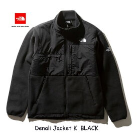 ザ ノースフェイス デナリジャケット(メンズ) フリースジャケット The North Face Denali Jacket NA71951 (K) ブラック BLACK