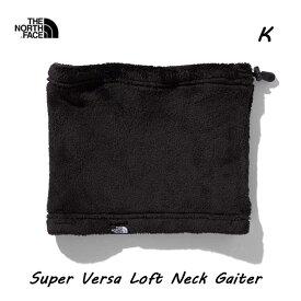 ザ ノースフェイス NN71902 K スーパーバーサロフトネックゲイター ブラック マフラー/ネックウォーマー The North Face Super Versa Loft Neck Gaiter K BLACK