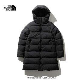 ザ ノースフェイス NDW91964 K Womens ウインドストッパーダウンシェルコート(レディース) The North Face WS Down Shell Coat BLACK ブラック GORE-TEX
