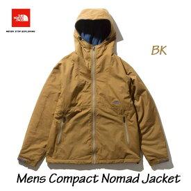 ザ ノースフェイス NP71933 BK コンパクトノマドジャケット(メンズ) The North Face mens Compact Nomad Jacket (BK)ブリティッシュカーキ