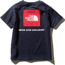 ザ ノースフェイス NTJ81827 UN 2020年春夏最新在庫 ネコポス便対応 日本正規品 ショートスリーブスクエアロゴティー(キッズ/ベビー) 子供用 半袖Tシャツ The North Face S/S Square Logo Tee NTJ81827 (UN)アーバンネイビー
