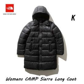 ザ ノースフェイス NYW81934 K キャンプシェラ ロングコート(レディース) The North Face Womens CAMP Sierra Long Coat NYW81934 (K)ブラック BLACK