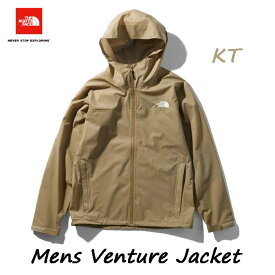 ザ ノースフェイス NP11536 (KT) ベンチャージャケット(メンズ) 2.5層のマルチパーパス軽量レインジャケット The North Face Mens Venture Jacket (KT)ケルプタン