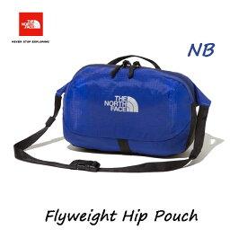 ザ ノースフェイス NM81953 NB フライウェイトヒップポーチ TNFブルー The North Face Flyweight Hip Pouch NM81953 (NB)TNFブルー