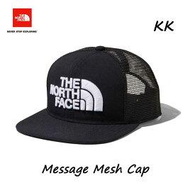ザ ノースフェイス NN01921 KK メッセージメッシュキャップ(ユニセックス)ブラック2 The North Face Message Mesh Cap NN01921 (KK)ブラック2