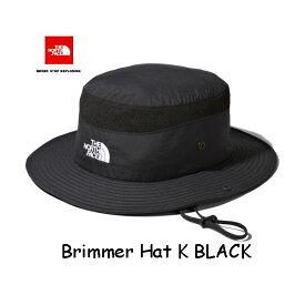 ザ ノースフェイス NN02032 K ブリマーハット(ユニセックス) UVケア機能を備えたサンシールドハット 帽子 ユニセックス The North Face Unisex Brimmer Hat ブラック(K)