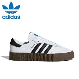 アディダス オリジナルス サンバ ウィメンズ レディース スニーカー レザー シューズ 靴 ホワイト ブラック ガム adidas originals SAMBAROSE W AQ1134 2019年春夏新作 送料無料