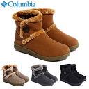 コロンビア ブーツ ベアフットマウンテン2 ウォータープルーフ レディース メンズ スノーブーツ ウィンターブーツ 黒 …