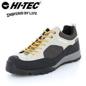【送料無料】ハイテック アオラギ WP スニーカー アウトドアシューズ レディース メンズ アイボリー HI-TEC HT HKU11 AORAKI WP IVORY LADYS MENS 53142908 小さいサイズ 大きいサイズ 女性用 男性用 靴