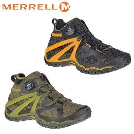 送料無料 メレル ローブ ミッド ニット メンズ トレッキングシューズ アウトドアシューズ キャンプ フェス 山歩き ミッドカット オレンジ オリーブ 靴 くつ クツ MERRELL ROVE MID KNIT 20091 48725 送料無料