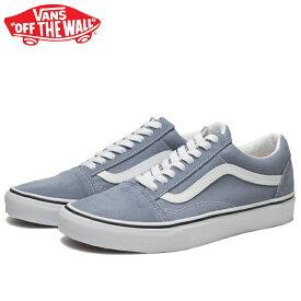 送料無料 バンズ オールドスクール スニーカー メンズ レディース ブルー 水色 青 ウィメンズ スウェード キャンバス スケートシューズ 靴 くつ クツ VANS OLD SKOOL BLUE GRANITE/TRUE WHITE VN0A4U3B2RM