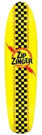 【送料無料】KROOKED ZIP ZINGER NANO DECK CLASSIC YELLOW 1st COLOR クルキッド ジップジンガー ナノ クラシック イエロー スケートボード クルーザー デッキ 04vb