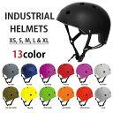 インダストリアル ヘルメット INDUSTRIAL HELMET プロテクター スケートボード スケボー BMX 自転車 ストライダー パ…