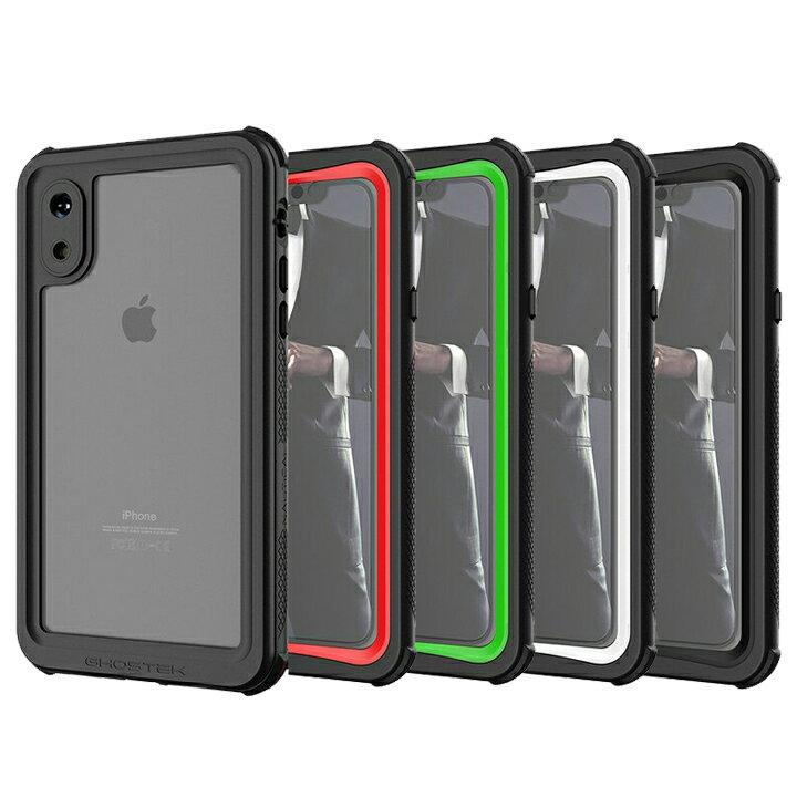 ノーティカル IP68耐衝撃/防水/防雪/防塵ケース iPhone XS