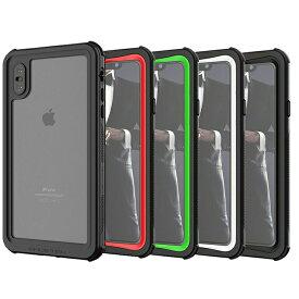 ノーティカル IP68耐衝撃/防水/防雪/防塵ケース iPhone XS Max