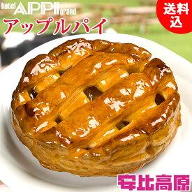 【シナモン不使用】安比高原 ホテル安比グランドパティシエ伝統の味 アップルパイ 500g×1(直径16cm)
