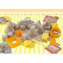 【室内で砂遊び!】【対象年齢3才以上】【安心・安全】suna・suna sunablockベーシックセット【バンダイ】