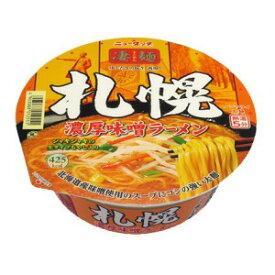 ニュータッチ 凄麺札幌 濃厚味噌ラーメン 162g×12個