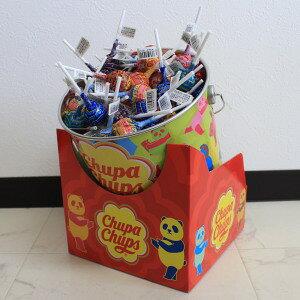 【キャンディ】【1本12g】【チュッパチャプスの缶付き!】チュッパチャプス ザ・ベスト・オブ・フレーバー 135本【クラシエフーズ】