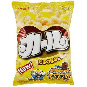 期間限定 ノンフライスナック 内容量68g カールうすあじ 10袋 明治製菓