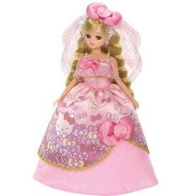 【リカちゃん】【対象年齢3才以上】【人形LD-13】ハローキティだいすきウェディングドレス リカちゃん【タカラトミー】