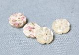 花型ポリボタン(2穴・クリーム・11.5cm)APPLEHOUSE