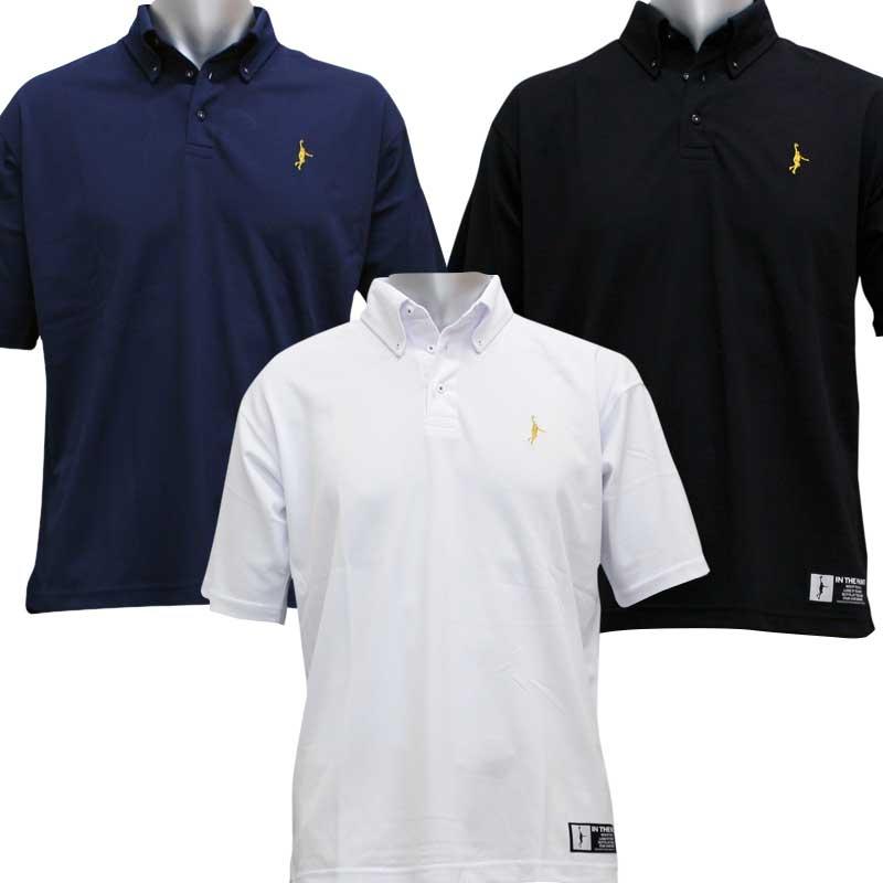 インザペイント/IN THE PAINT オリジナルボタンダウンポロシャツ バスケットボールウエア ITP15335HH itppc itpka(itp15335hh)