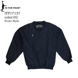 IN THE PAINT インザペイント V-NECK JUMPER Vネックジャンパー バスケットウェア(itp17137)
