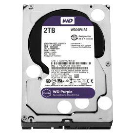ハードディスク・HDD 3.5インチ WESTERN DIGITAL ウエスタンデジタル WD20PURZ 2TB SATA600 5400 (容量:2TB 回転数:5400rpm キャッシュ:64MB インターフェイス:Serial ATA600)(0718037856742)