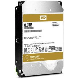 ハードディスク・HDD(3.5インチ) WESTERN DIGITAL(ウエスタンデジタル) WD8003FRYZ 8TB SATA600 7200 バルク品(容量:8TB 回転数:7200rpm キャッシュ:256MB インターフェイス:Serial ATA600)