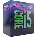 109位:CPU インテル(intel) Core i5 9400 BOX (Coffee Lake-S Refresh クロック周波数:2.9GHz ソケット形状:LGA1151)