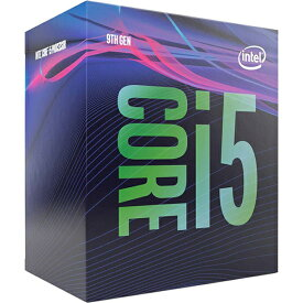 (最大400円OFFクーポン配布中)CPU インテル(intel) Core i5 9400 BOX (Coffee Lake-S Refresh クロック周波数:2.9GHz ソケット形状:LGA1151)