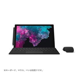 タブレットPC マイクロソフト Microsoft Surface Pro 6 KJV-00028 ブラック メモリ16GB Office Home and Business 2019付モデル (OS種類:Windows 10 Home 画面サイズ:12.3インチ CPU:Core i7 8650U/1.9GHz 記憶容量:512GB)(JAN 4549576106137)
