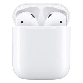 【最大2,000円OFFクーポン配布中】イヤホン・ヘッドホン APPLE アップル AirPods with Charging Case 第2世代 MV7N2J/A (タイプ:インナーイヤー 装着方式:完全ワイヤレス(左右分離型))(4549995069389)