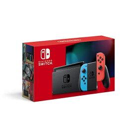 【新品未開封品】任天堂 Nintendo Switch ネオンブルー・ネオンレッド 2019年8月発売モデル 新型 本体 HAD-S-KABAA スイッチ ニンテンドースイッチ 4902370542912 [HADSKABAA]
