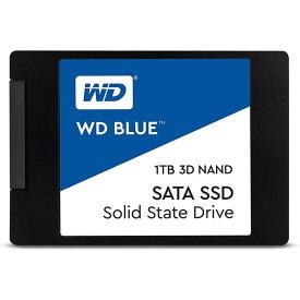 【最大3,030円OFFクーポン配布中★1月16日01:59まで★店内全品対象】SSD WESTERN DIGITAL ウエスタンデジタル WD Blue 3D NAND SATA WDS100T2B0A 1000GB 2.5インチ Serial ATA 6Gb/s 3D TLC NAND [WDS100T2B0A] 0718037856278