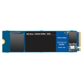 【最大3,030円OFFクーポン配布中★1月16日01:59まで★店内全品対象】SSD WESTERN DIGITAL(ウエスタンデジタル) WD Blue SN550 NVMe WDS500G2B0C 500GB M.2 Type2280 PCI-Express 3D NAND [WDS500G2B0C] 0718037868752