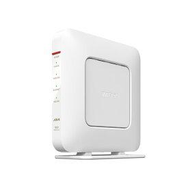 無線LANルーター Wi-Fiルーター バッファロー BUFFALO AirStation WSR-1800AX4S-WH ホワイト 無線LAN規格:IEEE802.11a/b/g/n/ac/ax 接続環境:2階建て(戸建て)/3LDK(マンション)/14台/5人 [WSR1800AX4SWH] 4981254058671