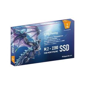 【最大1,500円OFFクーポン配布★8月1日00:00から★店内全品対象】SSD CFD PG4VNZ CSSD-M2M1TPG4VNZ 容量 1000GB 規格サイズ M.2 (Type2280) インターフェイス PCI-Express Gen4 (x4) タイプ 3D TLC(B27B) 4988755055871