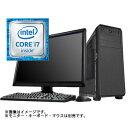 (WEB限定)(デスクトップパソコン本体)タワー型モデル10(Core i7 7700/32GB/SSD 480GB/Win10Home64bit) ランキングお取り寄せ