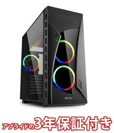 (3年保証 BTOパソコン) ゲーミングデスクトップパソコン BGI58400S02FF14V01 (基本構成 CPU:Core i5 8400/メモリ:DDR4 8GB/SSD:240GB/HDD:-/電源:500W 80PLUS Bronze/グラボ:Geforce GTX1050Ti) Barikata Games デスクトップパソコン ゲーミングパソコン ゲーミングPC 新品