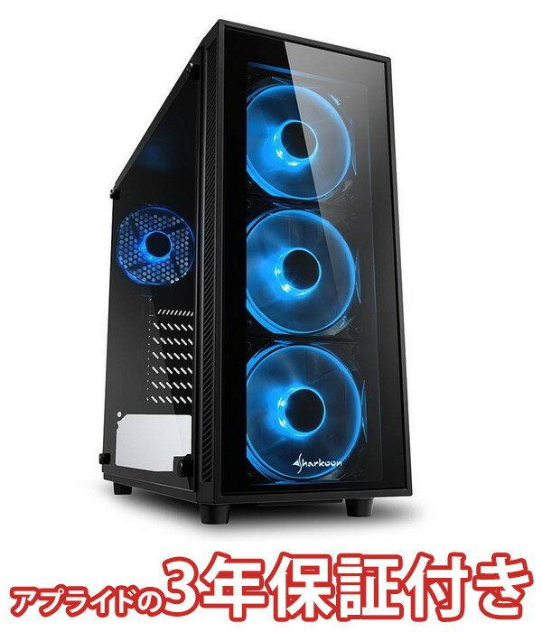 (3年保証 BTOパソコン) ゲーミングデスクトップパソコン Core i7 8700 DDR4 16GB SSD 480GB HDD 3TB 750W 80PLUS Gold Geforce RTX2080Ti BGI78700S03FF1508 Barikata Games