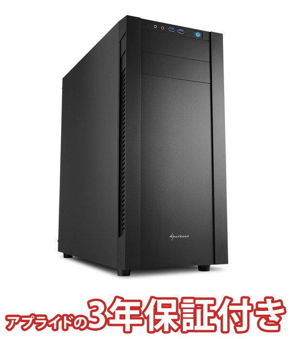 (3年保証 BTO デスクトップパソコン) Barikata Middle BMG4900S03 (基本構成 CPU CeleronG4900 メモリ DDR4 16GB SSD 480GB HDD 3TB 電源 500W 80PLUS Bronze)