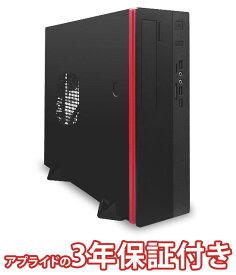 (3年保証 BTO デスクトップパソコン) Barikata Slim BSG4900RE01 (基本構成 CPU CeleronG4900 メモリ DDR4 4GB SSD 120GB HDD - 電源 300W 80PLUS Bronze) デスクトップパソコン 新品