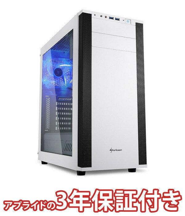 (3年保証 BTO ゲーミングデスクトップパソコン)ハイスペックモデル BG-i78700M25-19(基本構成 CPU:Core i7 8700/メモリ:DDR4 16GB/SSD:480GB/HDD:−/電源:750W 80PLUSシルバー/グラボ:Geforce GTX1080Ti)(BG)